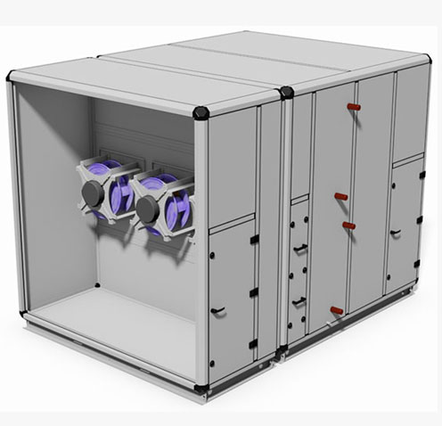 The Air Design Air Handling Units and Fan Coil Units